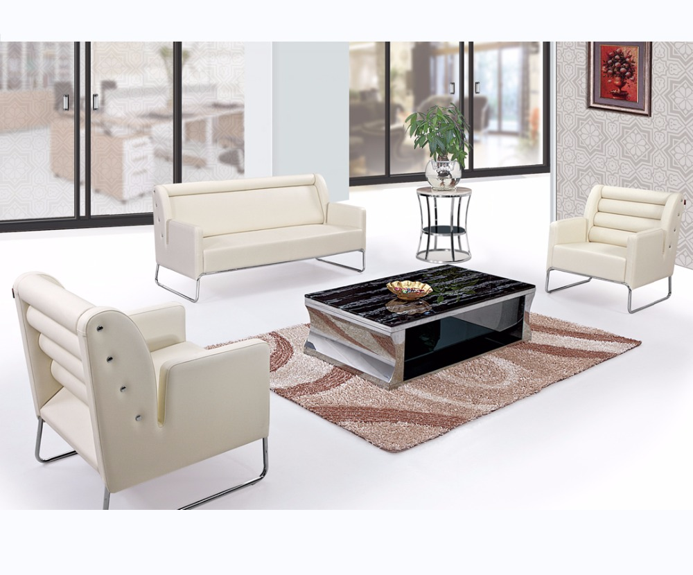 2017 new model sofa sets pictures modern leather sofa set stainless steel sofa