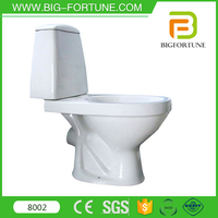 bathroom one piece white color two piece p-trap cheap toilets russia