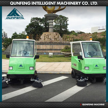 Professional non-toxic electric street sweeper truck
