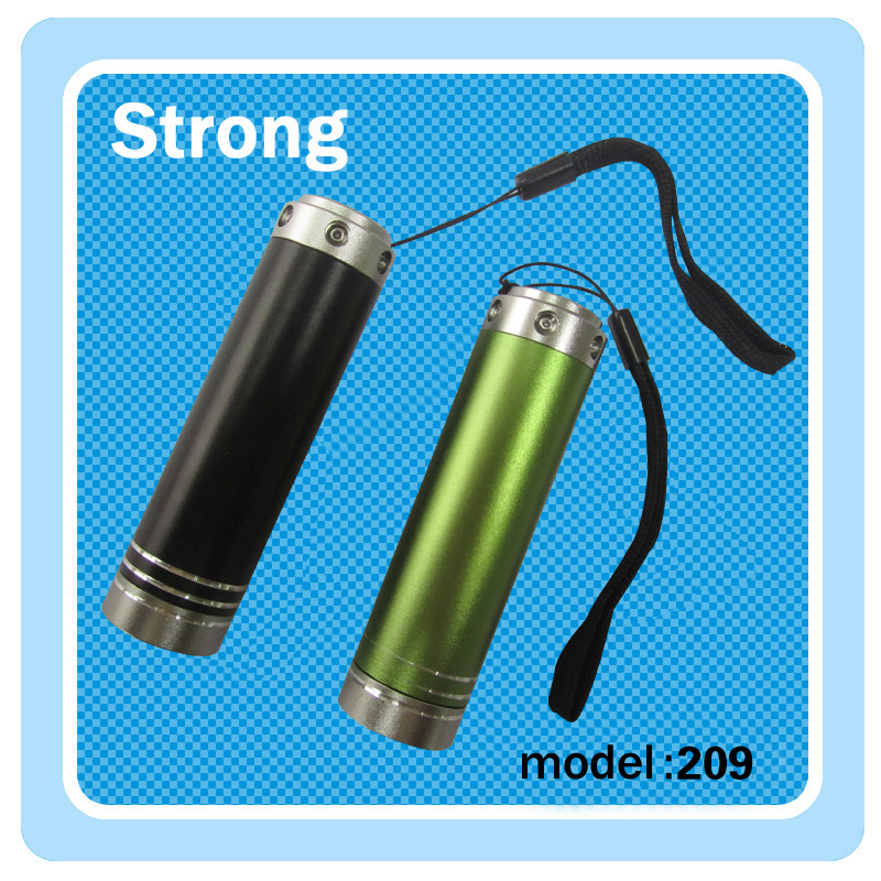 personalized accept color anodized super quality aluminum alloy 14500 battery led mini flashlight/torch
