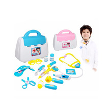 Doctor Medical Set Nurse Carry Box Kids Role Play Pretend Kit Case Toy