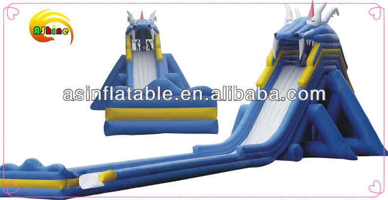 best quality dragon slide giant inflatable water slide for adult