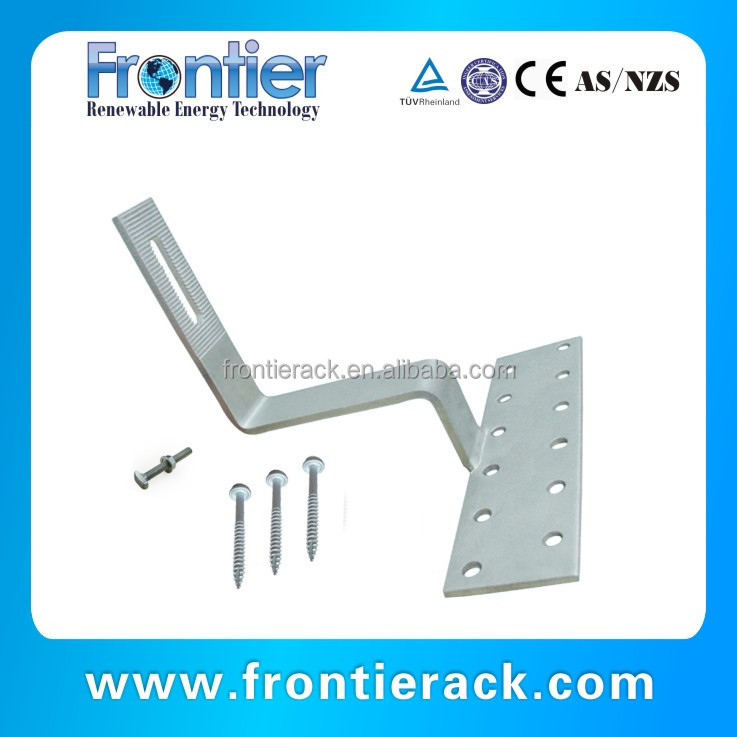 Best selling solar roof tile hook panel mounting
