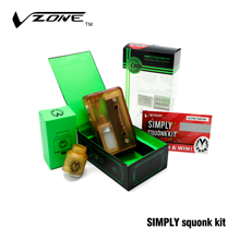 China Distributor Vape Kit Vzone Simply Squonk Kit Vape Cigar & Electronic Cigarette for Sale in France