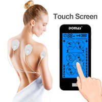Low Frequency Neck And Back Bluetooth Electronic Body Tens Machine Touch Screen Ems Mini Massager Fda Approval