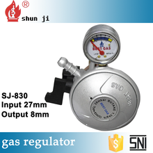 Safety products long life zhejiang factory gas pressure regulator installation