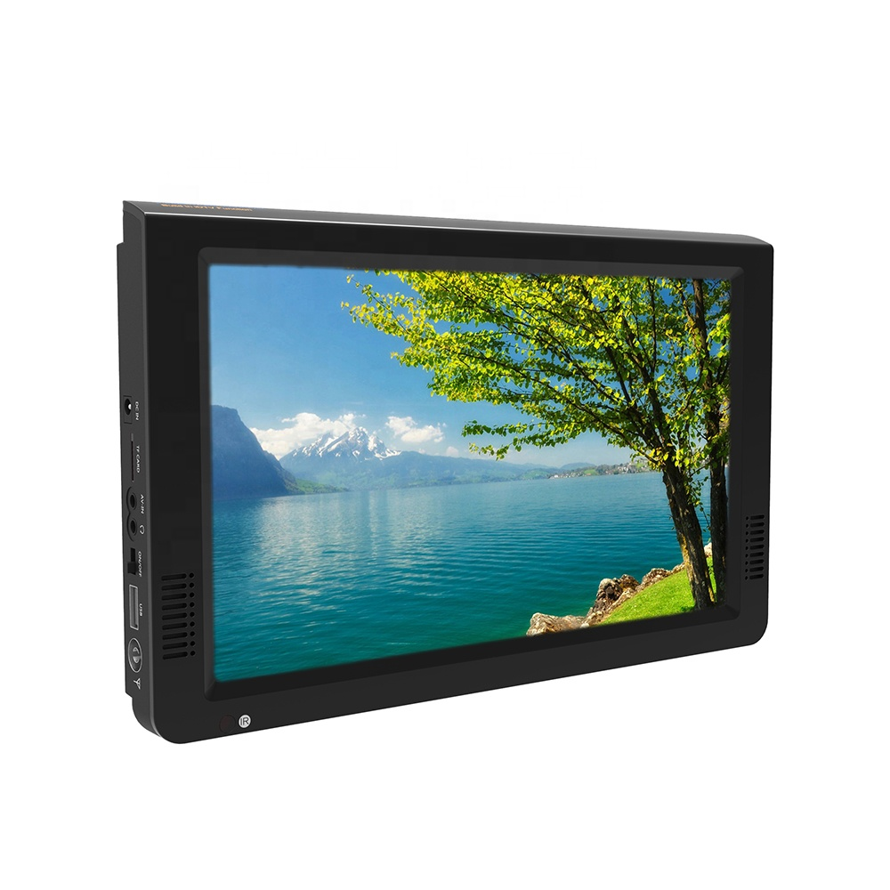 Leadstar new design screen DTV+ATV lcd tv 12 volts support <strong>1080P</strong> mpeg rmvb mkv video