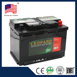 Good price 57217 12v55AH car battery recycling