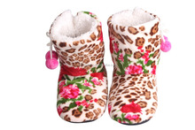 Sexy Women Winter Shoes Leopard Print Boots