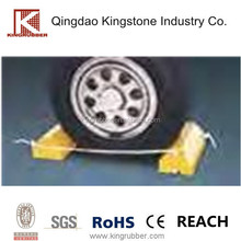 Safety Urethane wheel chock, Heavy Duty, Weather-resistant, Super Light Weight