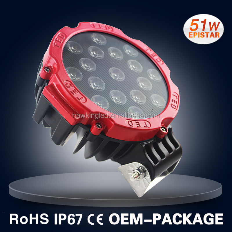 51W offroad car LED worklight