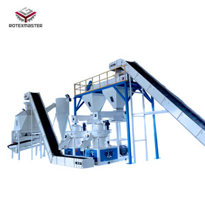 Wood pellet complete production line