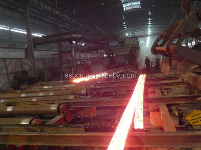 China factory manufacture continuous casting machine CCM for 120*120mm spring steel