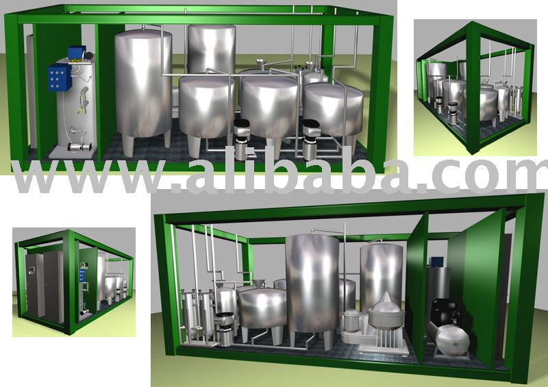 Automated Containerized Biodiesel Plant
