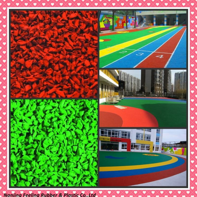 Wholesales Table Tennis Rubber Playground Flooring