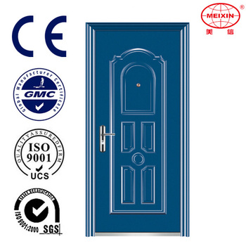 Single Leaf Modern Designs Nigeria Interior Steel Door