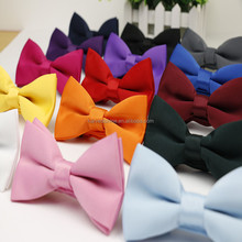 frosted solid color bow tie for men,fashion fabric bow tie wholesale