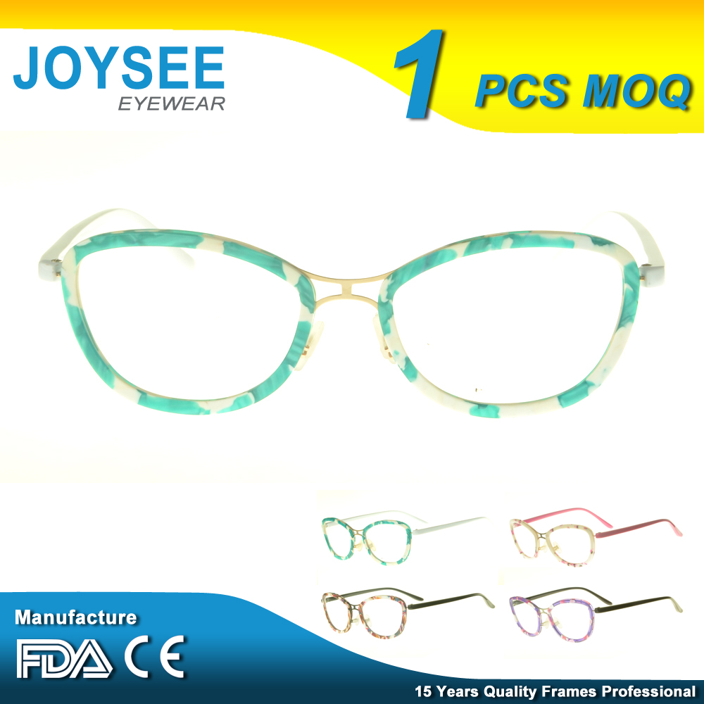 Joysee Brand Manufacturers Wholesale The Latest Stylish French Custom Made Spectacle Fashion Eyeglass Frames For Young Girls