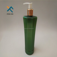Manufacturers recycled wholesale 300ml body wash plastic flask bottle