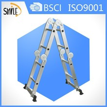 ZheJiang aluminum step ladder folding wooden ladder stair