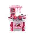 Induction plastic pretend play cook kids toy kitchen play sets