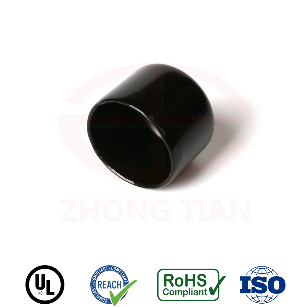 17mm ID x 20mm height plastic end caps for steel tube
