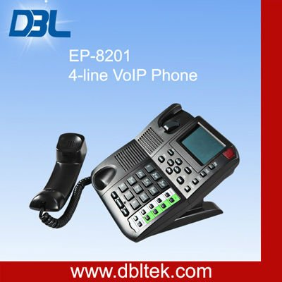 EP-8201 4-Line VoIP Phone (IP Phone) network communication