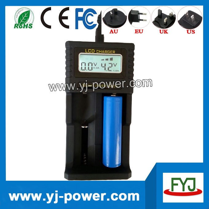 18650 battery charger for rechargeable battery 18650 26650 22650 18490 18350 17670 17500 14500 10440