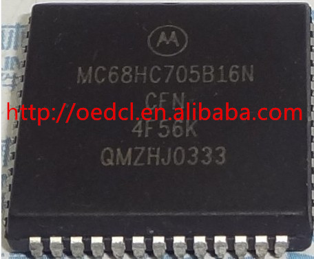 Electronic Components MC68HC705B16NCFN