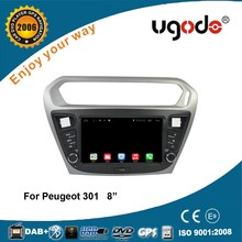 Wholesale android tablet 8 inch 2 din gps for peugeot 301 autoradio gps