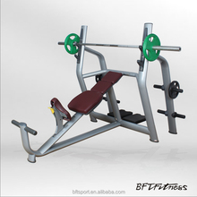 Body weight guangzhou Incline press bench/Fitness equipment weight lifting bench/Gym machine free weight bench BFT-2028
