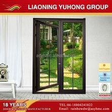 aluminum swing opening door indian main double door designs