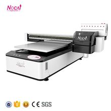 Nuocai A1 size uv flatbed inkjet printer for pvc card printing uv flatbed printer price