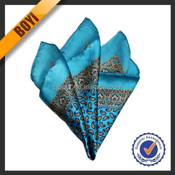 Fashion Lady's Silk Wholesale Small Handkerchief