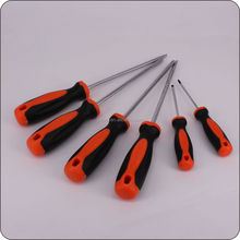 long screw drivers sets power flat plastic handle screwdrivers High quality & popular new design screwdriver