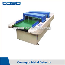 Digital conveyor belt double sensor needle detector for textile industry