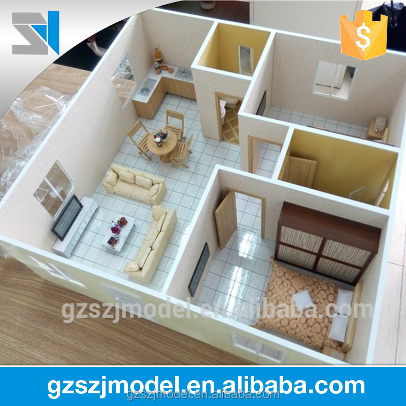 Interior design model making / 3d house model /3d