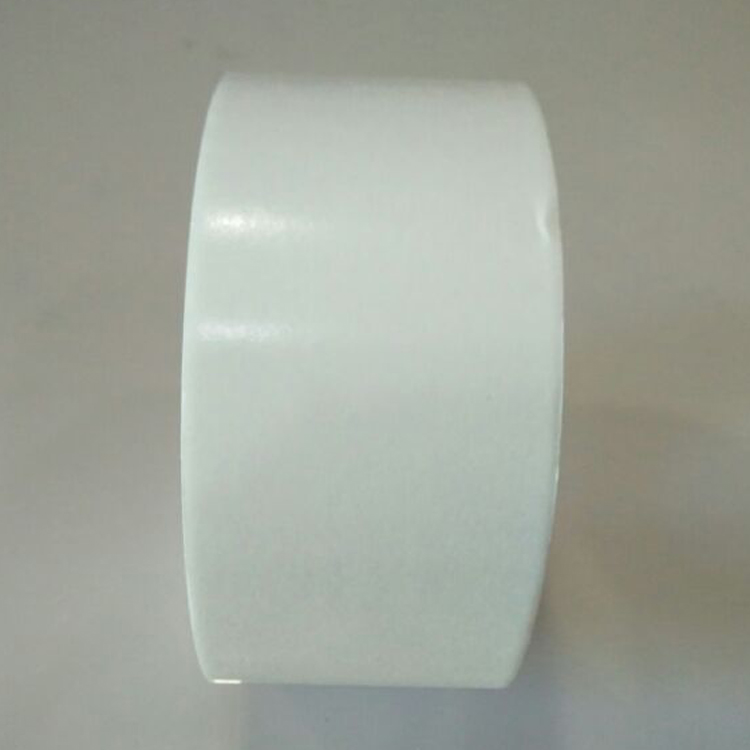 Double sided tissue tape for high temperature resistance