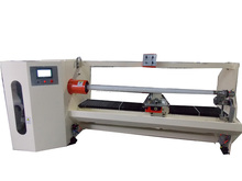 Single axis Auto cutting roll machine for double sided tape/sticker/protective film/self adhesive paper/labels