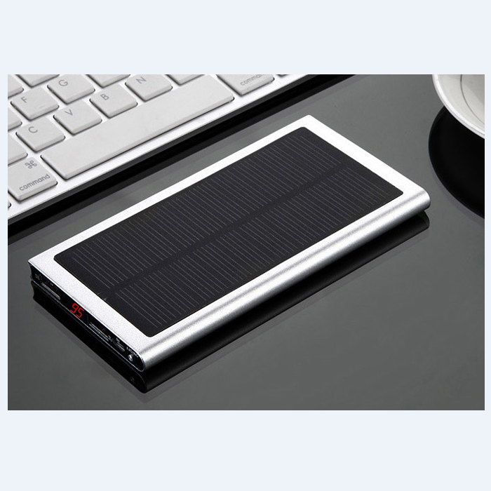 Perfume portable power bank 8000mAh solar battery changer for cell phone