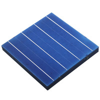 Thin film polycrystalline solar cell 156x156 solar cells for sale direct china