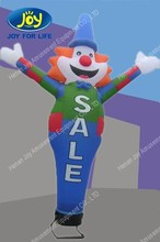 Festival and funny dancing inflatable advertising man, giant inflatable clown