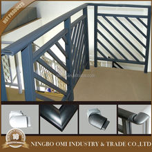 outdoor garden railing/rustproof metal handrail/ornamental wrought iron hand railings
