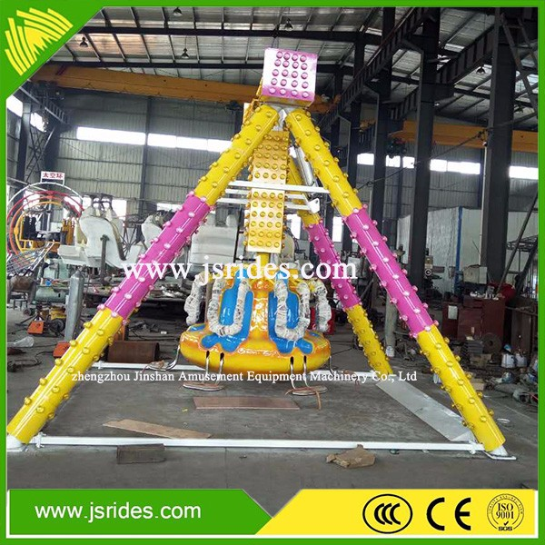 Exciting kiddie small pendulum/swing ride for amusement park
