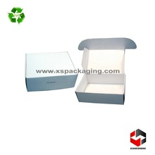 custom printed e flute corrugated packaging box