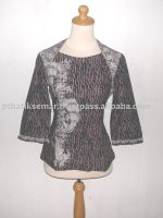 Pl L3 / 4 Ass Casual Burung Merak Blouse