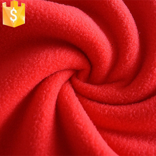 China supplier Clothing Material the heavy polar express fleece fabric for sale