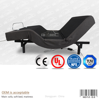 modern luxury beds adjustable with massage function T02-2#