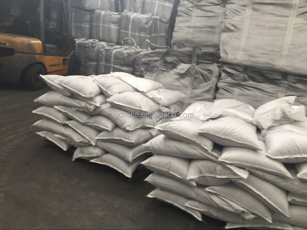calcined pitch coke/petroleum coke used in graphitized production/alluminum casting