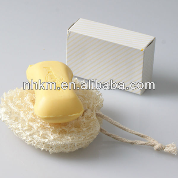 2013 Multifunction-Heart Shaped Natural loofah Sponge Soap Holders